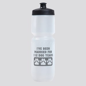 16th Anniversary Dog Years Sports Bottle