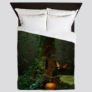 Halloween Night Queen Duvet