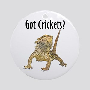 Beardie 10x10 Round Ornament