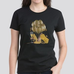 Fifty & Fabulous Elegant Gold Glam T-Shirt