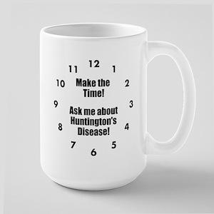Make The Time! Ask Me About Hd! Large Mug Mugs