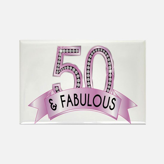 50 & Fabulous Diamonds Magnets