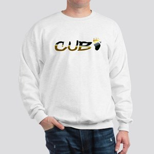 BEAR PRIDE CUB AND PAW Sweatshirt