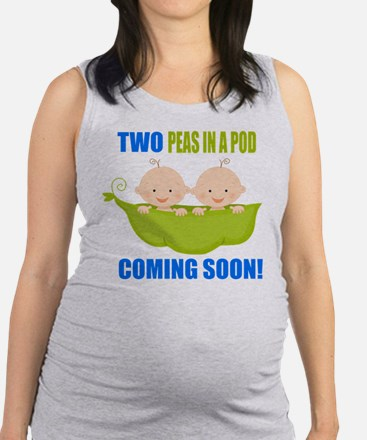 Unique Two peas pod Maternity Tank Top