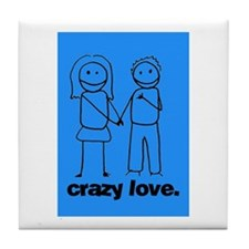 Crazy Love (b) Tile Coaster