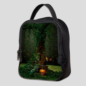 Halloween Night Neoprene Lunch Bag