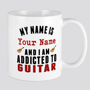 Addicted To Guitar Mugs