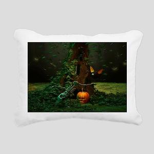 Halloween Night Rectangular Canvas Pillow