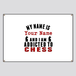 Addicted To Chess Banner