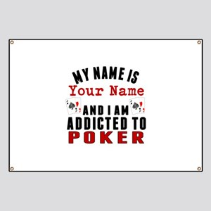 Addicted To Poker Banner