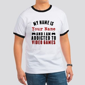 Addicted To Video Games T-Shirt