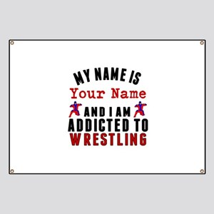 Addicted To Wrestling Banner