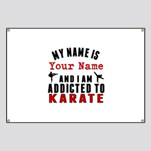 Addicted To Karate Banner