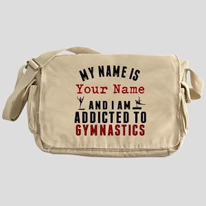 Addicted To Gymnastics Messenger Bag