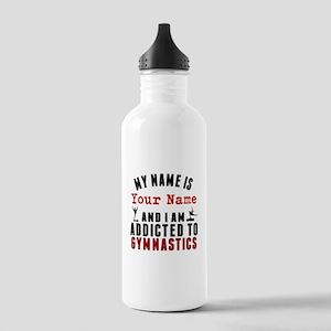 Addicted To Gymnastics Water Bottle