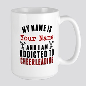 Addicted To Cheerleading Mugs