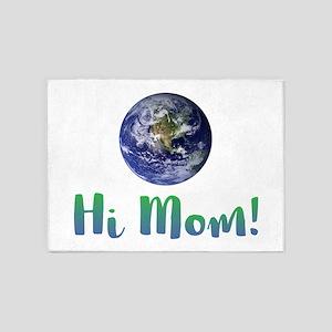 Hi, Mom! - 5'x7'Area Rug