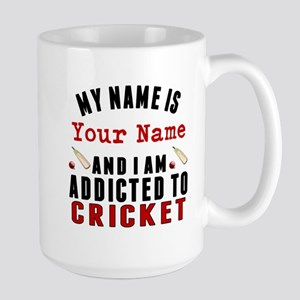 Addicted To Cricket Mugs