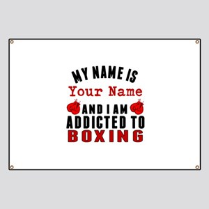 Addicted To Boxing Banner