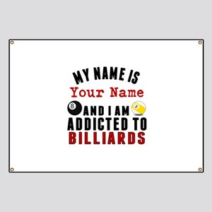 Addicted To Billiards Banner