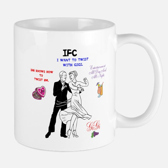 IFC GIGI TWIST. Mug