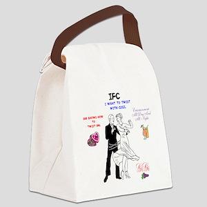 IFC GIGI TWIST. Canvas Lunch Bag