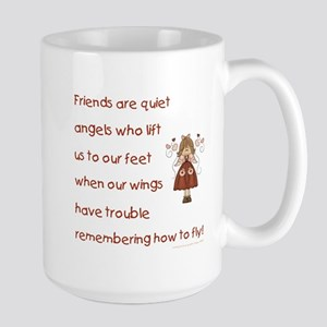 FRIENDS ARE... Large Mug