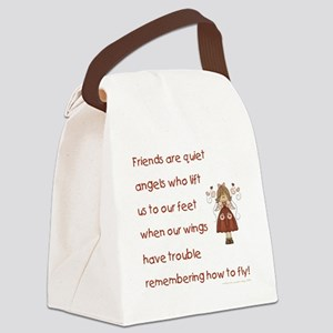 FRIENDS ARE... Canvas Lunch Bag