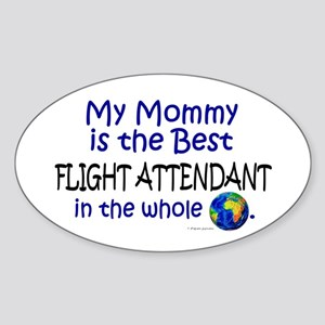 Best Flight Attendant In The World (Mommy) Sticker