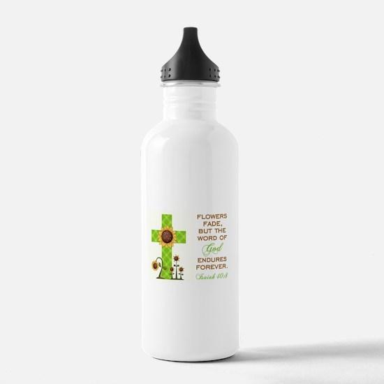 ISAIAH 40:8 Water Bottle