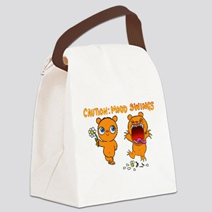 Mood Swings Canvas Lunch Bag