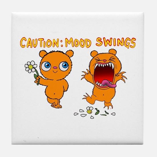 Mood Swings Tile Coaster