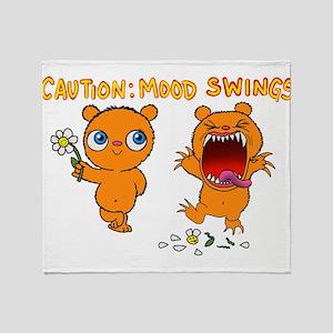 Mood Swings Throw Blanket