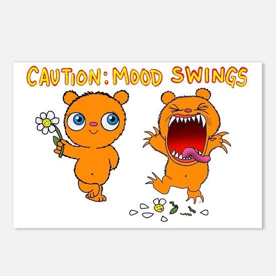Mood Swings Postcards (Package of 8)