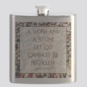 A WORD AND A STONE... Flask