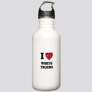 I love White Tigers Stainless Water Bottle 1.0L