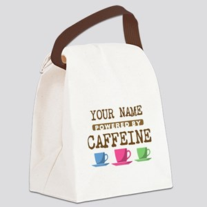 Powered by Caffeine Canvas Lunch Bag