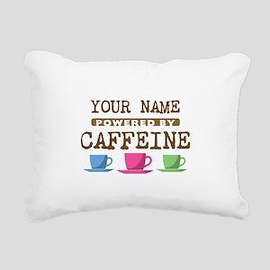 Powered by Caffeine Rectangular Canvas Pillow