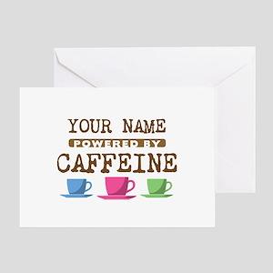 Powered by Caffeine Greeting Card