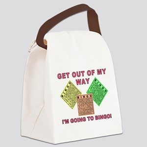 GET OUT OF MY WAY Canvas Lunch Bag