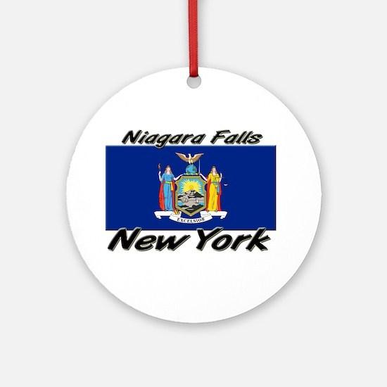 Niagara Falls New York Ornament (Round)