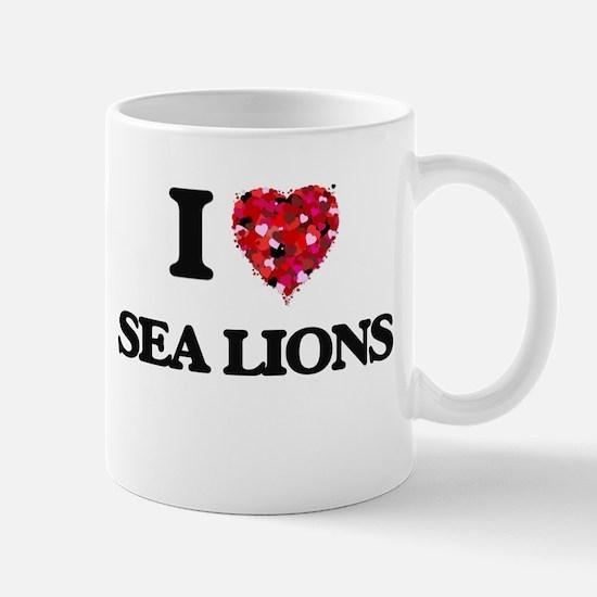 I love Sea Lions Mugs