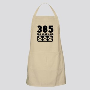 385 Dog Years Old Apron