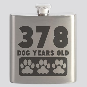 378 Dog Years Old Flask