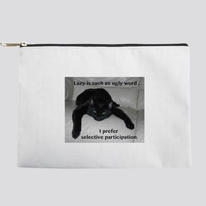 Lazy humor Makeup Bag