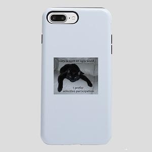 Lazy humor iPhone 8/7 Plus Tough Case