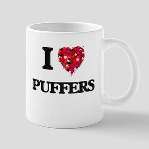 I love Puffers Mugs