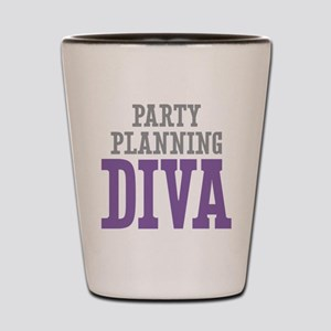 Party Planning DIVA Shot Glass