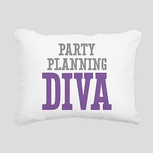 Party Planning DIVA Rectangular Canvas Pillow