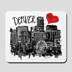 I love Denver Mousepad